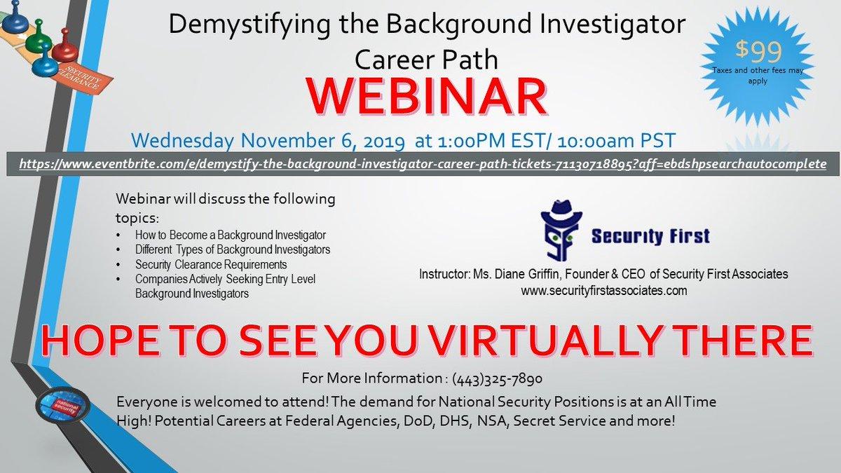 Demystifying The Background Investigator Career Path Baltimore Black