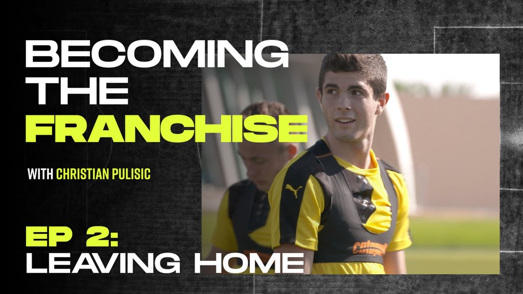 3,888 miles from home at 16 years old - pursuing the dream takes sacrifices. My move to Dortmund in my words 💪🏻 #NeverTheEasyRoad #BecomingTheFranchise @playerstribune playerstribu.ne/ChristianPulis… #ad