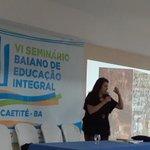 Image for the Tweet beginning: 🇧🇷VI Seminário Baiano de Educação