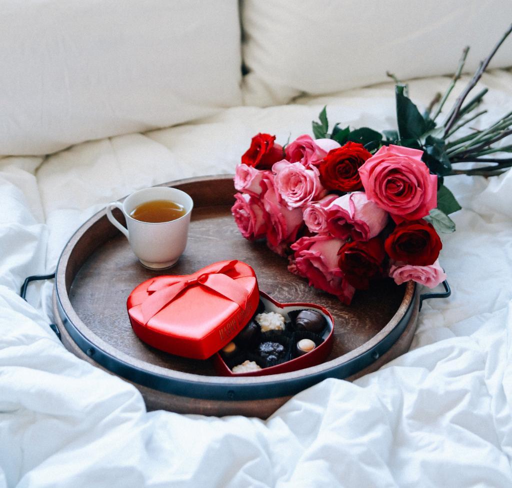 Романтичное утро в картинках