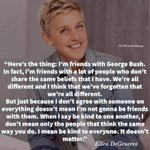 Image for the Tweet beginning: Love ❤🧡💛💚💙💜🌈🌈🌈✔💯👏🙌👊 #EllenDeGeneres she's always