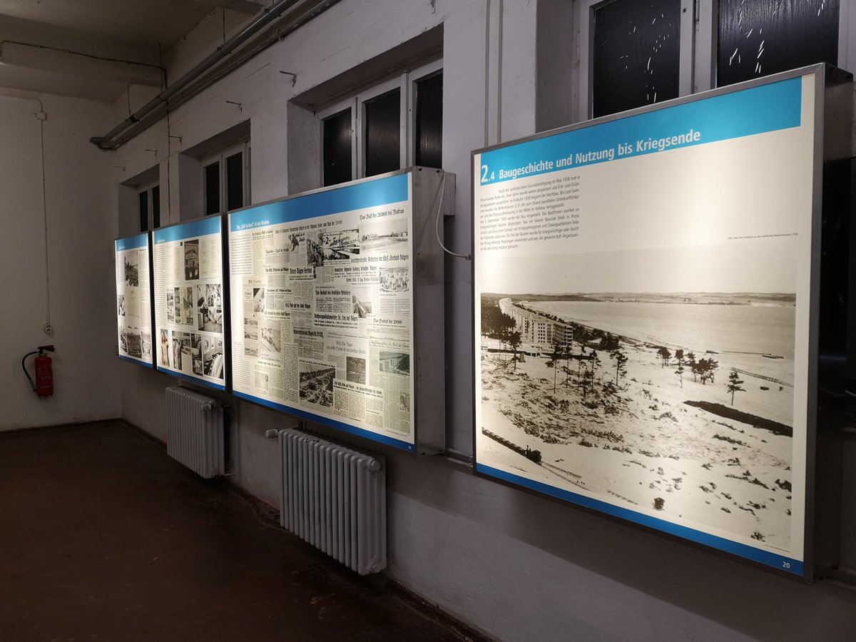 After the path through the treetops, we went to a museum which informs about what the Nazis did in Rügen (the buildings and what the plans were mostly). I believe that is is our duty as Germans to keep remembering so it never happens again. #niewieder #neveragain<br>http://pic.twitter.com/fqvnHogJBS