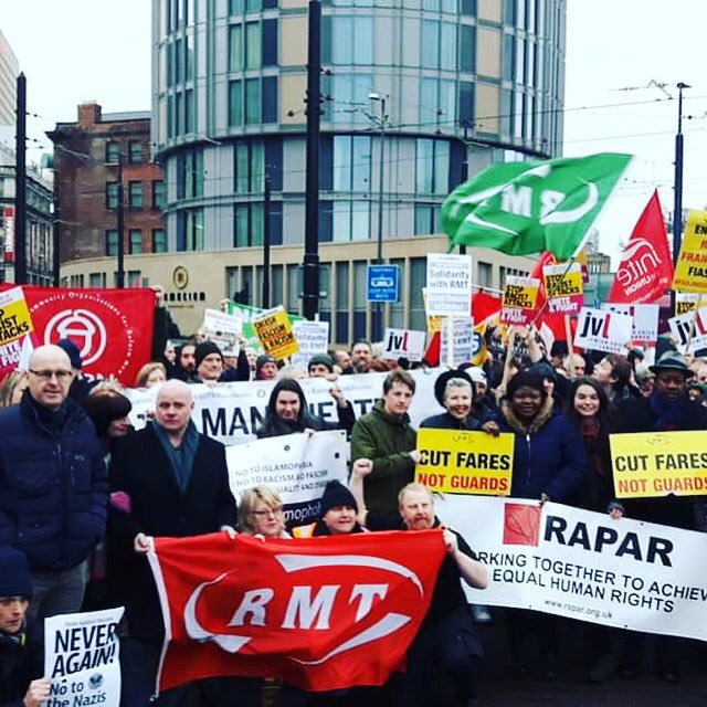 Big thanks to @RMTunion for constant support & speaker for @AntiRacismDay October 19th international conference! Book today for conference bit.ly/stopboris @RMTYoungMember @RMTLondon
