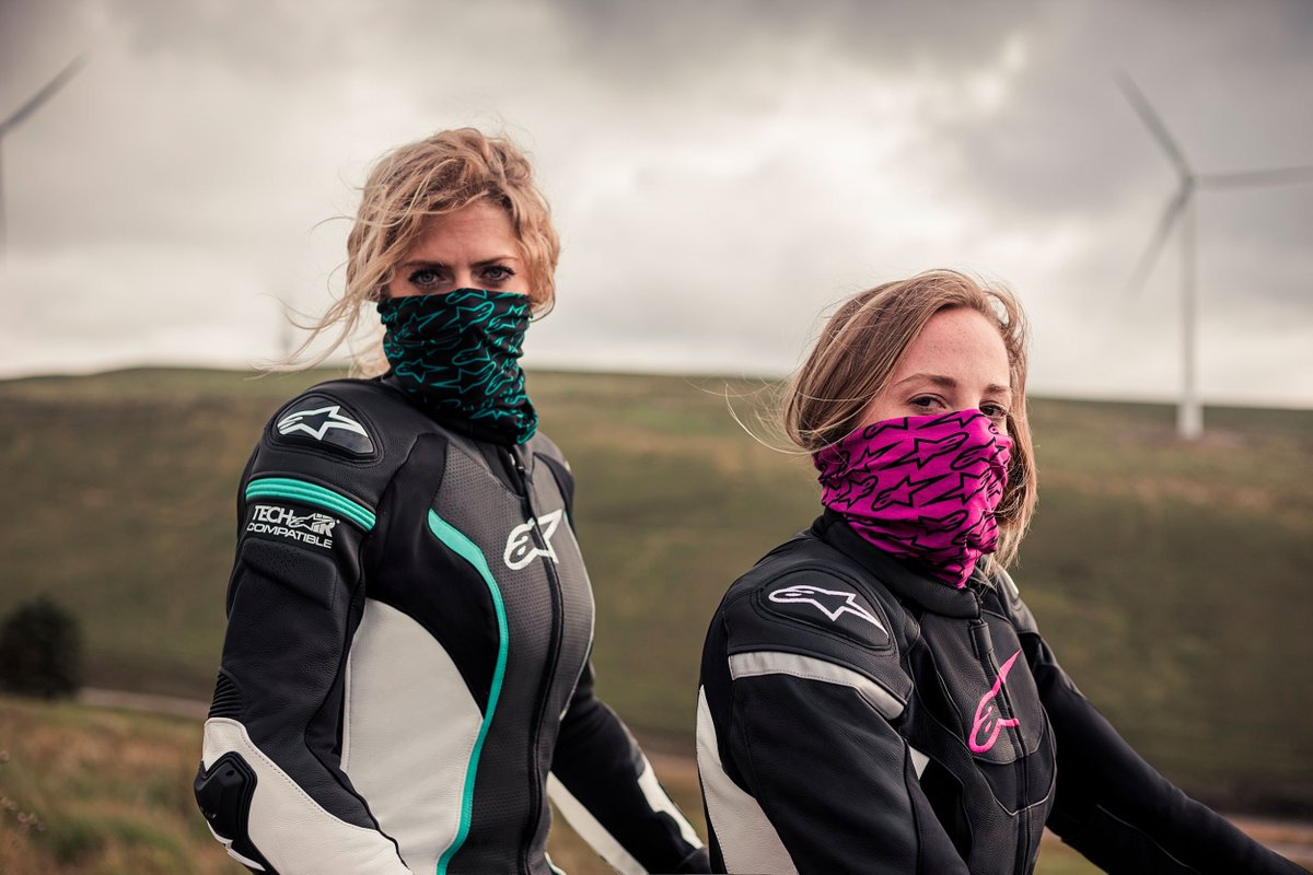 The @Alpinestars Stella range of protective motorcycle clothing has something for all women riders, no matter what type of bike they ride 🔥🔥🔥 ➡️ alpinestars.com/products/road/… #Alpinestars | #AlpinestarsProtects