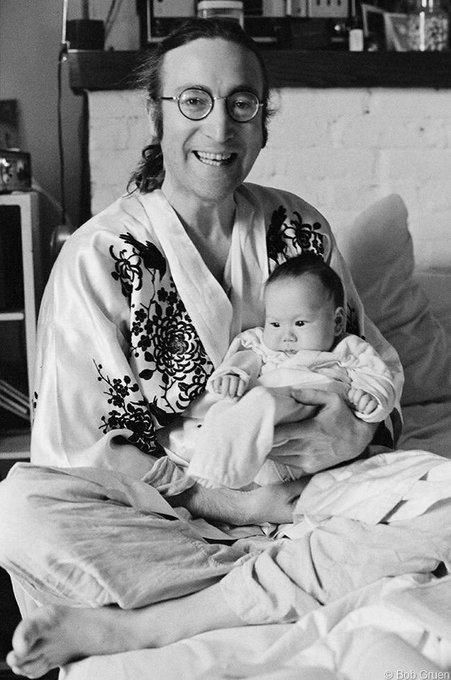 Happy Birthday John Lennon and Sean Lennon