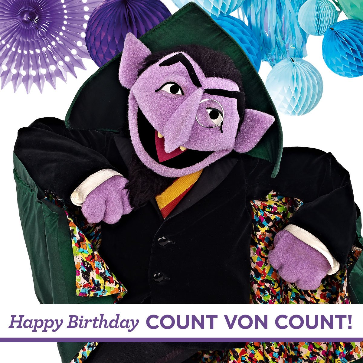 Sesame Street On Twitter Happy Birthday Countvoncount