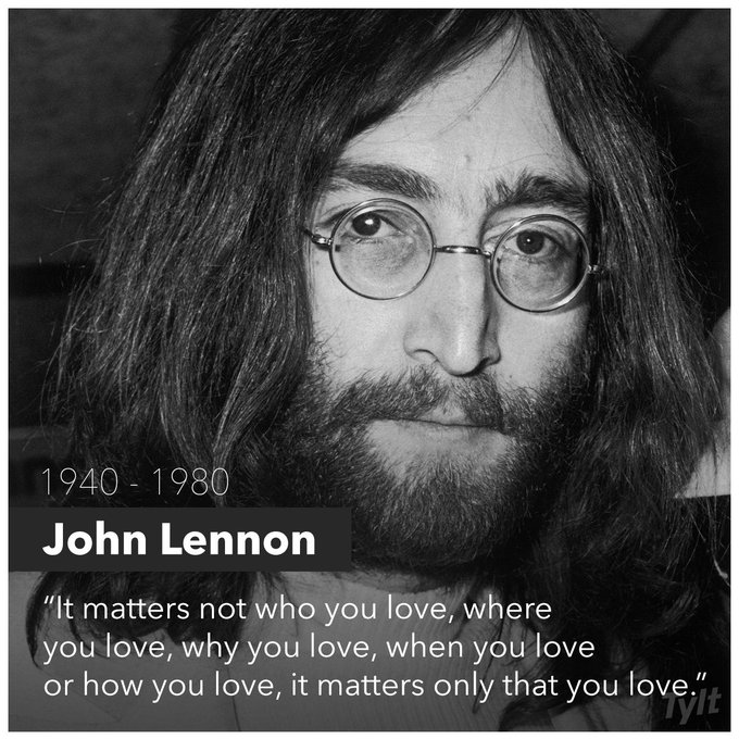 Happy Birthday, John Lennon! There\s never a day where we don\t miss you! Rest in Peace!