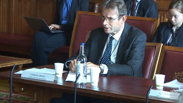"""""""The main problem with Boris Johnson's proposals is that it could perhaps work for the House of Commons, but it certainly doesn't work for the EU"""" @CER_Grant tells @LordsEUCom – watch the evidence session back here: parliamentlive.tv/Event/Index/f5…"""