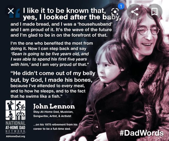 Happy Birthday John Lennon and Sean.