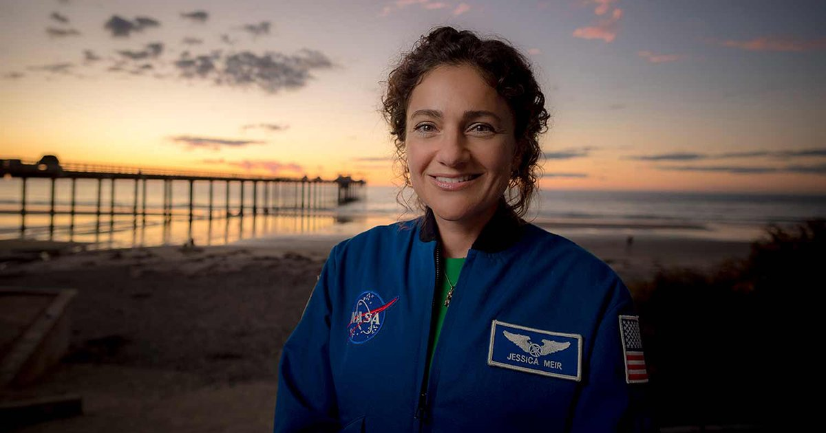 .@NASA astronaut and @Scripps_Ocean alumna @Astro_Jessica travels to the International @Space_Station, fulfilling a lifelong dream. Its going to be an amazing six months, she shared during a live interview. Read more > go.ucsd.edu/31WY7ZG