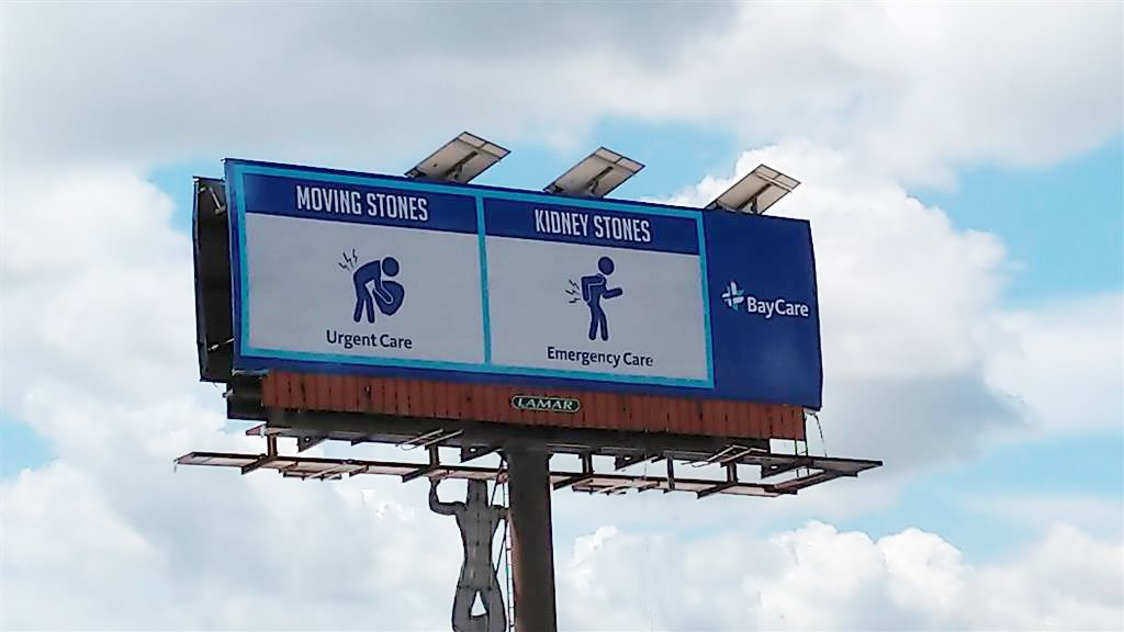 We received great social feedback about our new billboards, so we thought we'd share a few more! They're our way of helping you know where to go if you're injured or sick, with a bit of humor 🙂