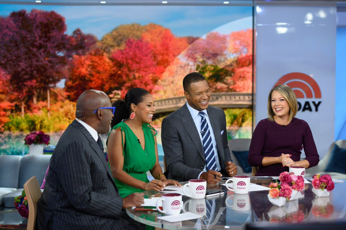 The many faces during a morning chat ☺️ @3rdHourTODAY - love these guys