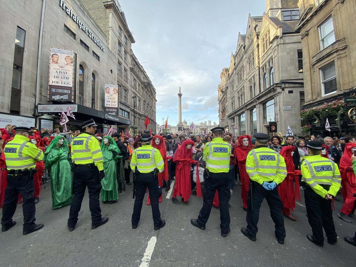 #ExtinctionRebellion on Whitehall