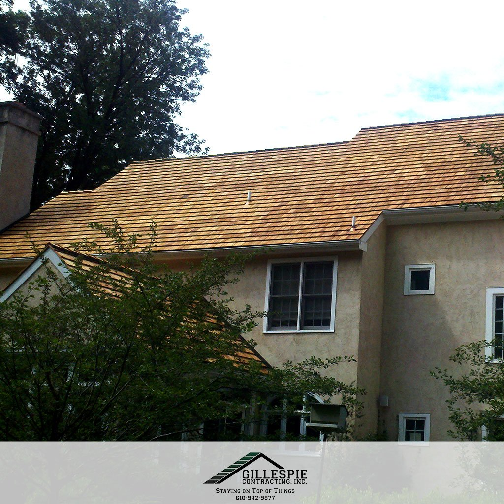 For #Cedar roofing, you need an experienced #roofing contractor for the best installation. Call Gillespie Contracting inc when you need a cedar roofer in Chester Springs PA or the surrounding area! http://www.gillespiecontracting.com  #cedarroof #PAcontractors #PAroofers #CedarShingle pic.twitter.com/9ZYUpJnEOd
