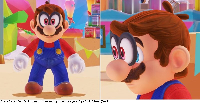 Supper Mario Broth On Twitter In Super Mario Odyssey A Glitch Causes Cappy To Turn Invisible If Mario Kicks An Object After Catching Cappy Thrice In A Row However Cappy S Eyes Will