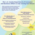 Image for the Tweet beginning: Hey San Gabriel Valley—@LACountyDCBA is
