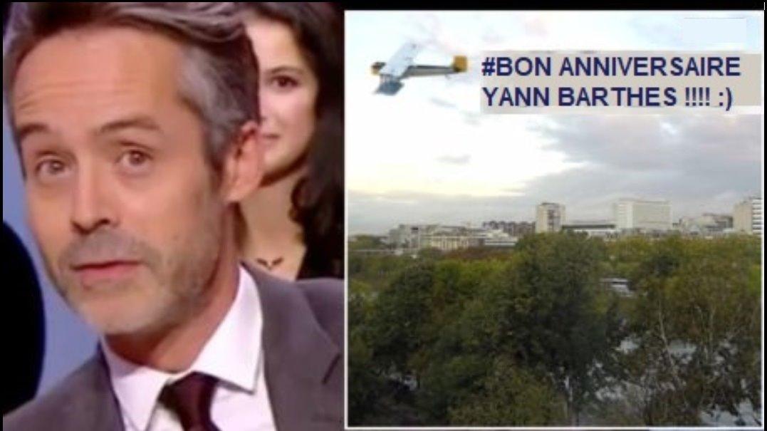 Bon anniversaire Yann Barthes ! @Qofficiel <br>http://pic.twitter.com/u61qa95ht7