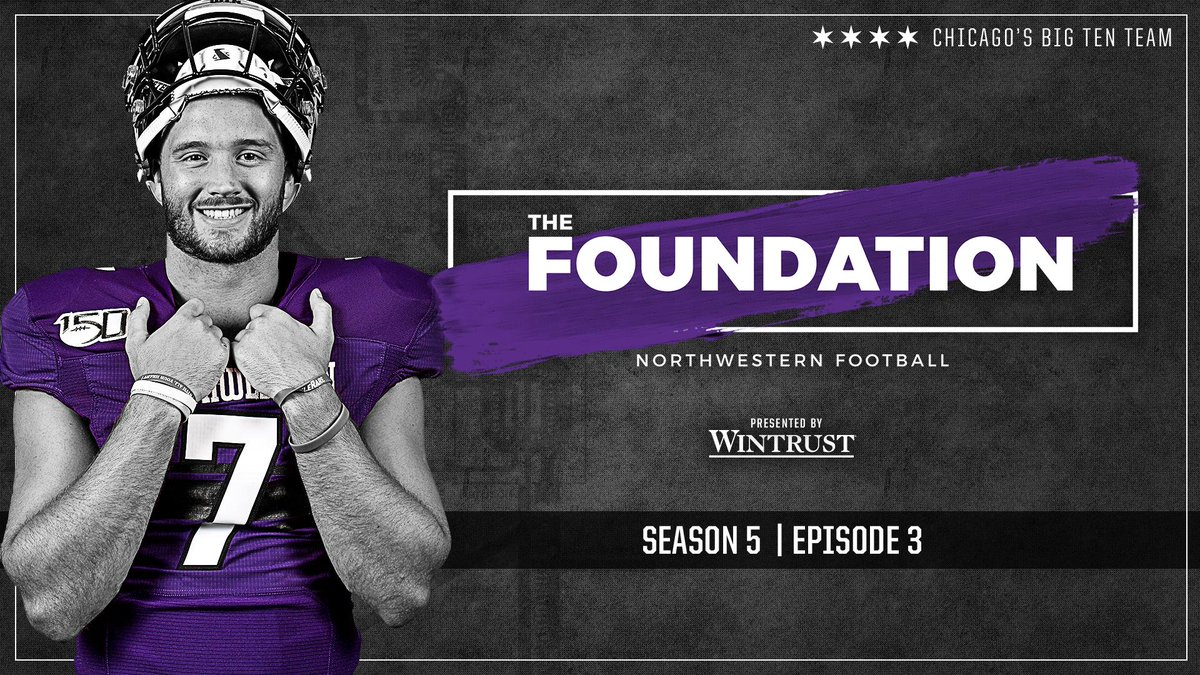🎥 A new episode of The Foundation: Northwestern Football presented by @Wintrust is available NOW! 🎥 youtu.be/x6eEhCETodA