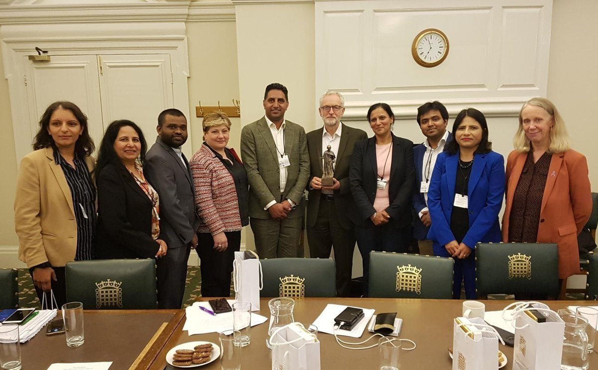 A very productive meeting with UK representatives from the Indian Congress Party where we discussed the human rights situation in Kashmir. There must be a de-escalation and an end to the cycle of violence and fear which has plagued the region for so long.