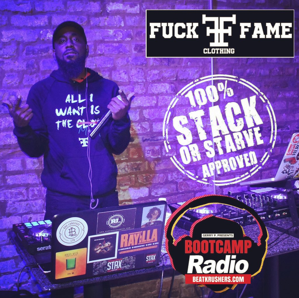 Just A Kid From The Chi‼️🗣🆘 #fuckfame #stackorstarveapproved #gerrypentertainment #bootcampradio #GerryPthaDJ