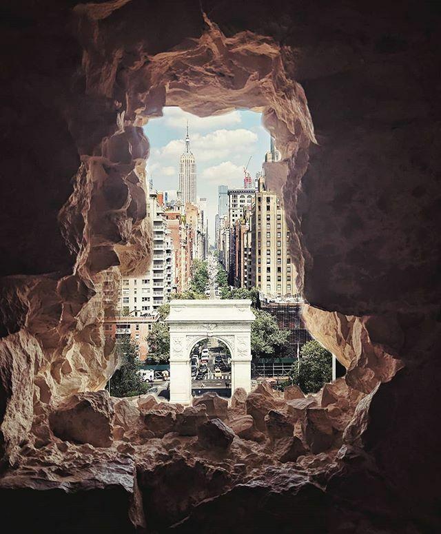Imagination is the reality I create. #newyork #washingtonsquarepark #photoshop ift.tt/2IyBBP1