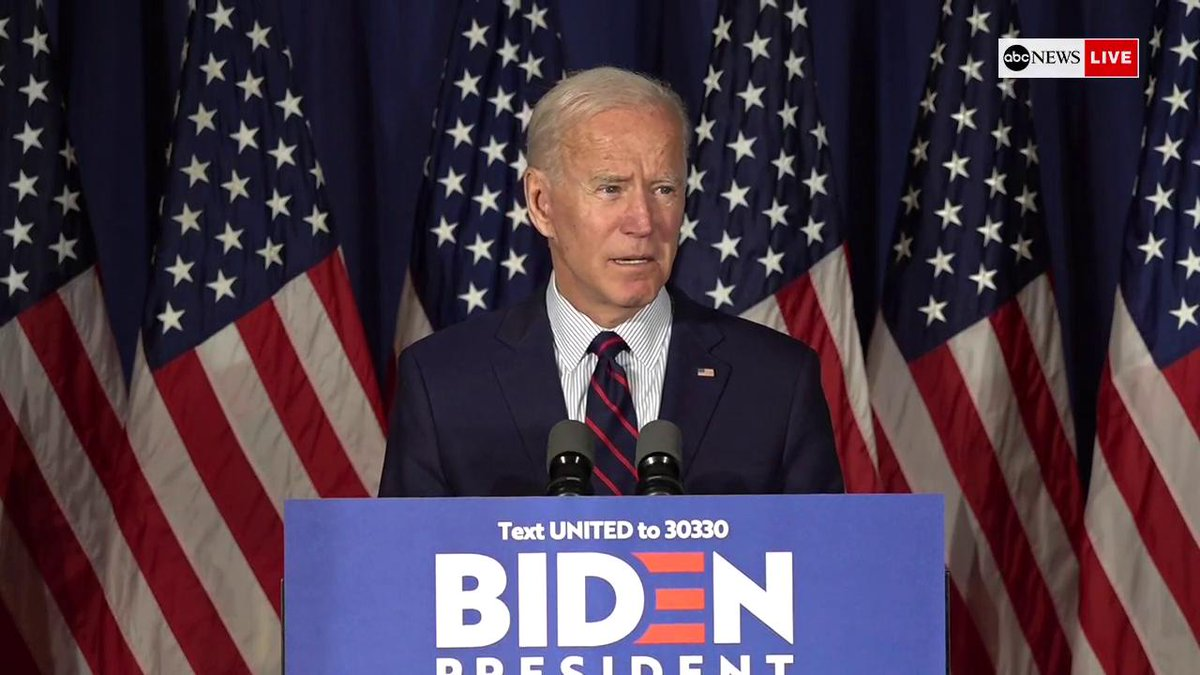 Joe Biden Calls For President Trump To Be Impeached