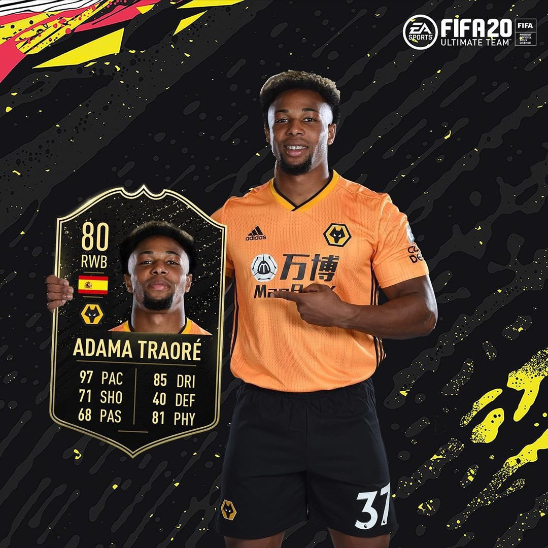 Adama Traore Diarra On Twitter Now We Are Talking Thank You Easportsfifa I Will Keep Working To Be The Best I Can Be God Willing Blessings For Everyone Https T Co Pfwfelwwb9