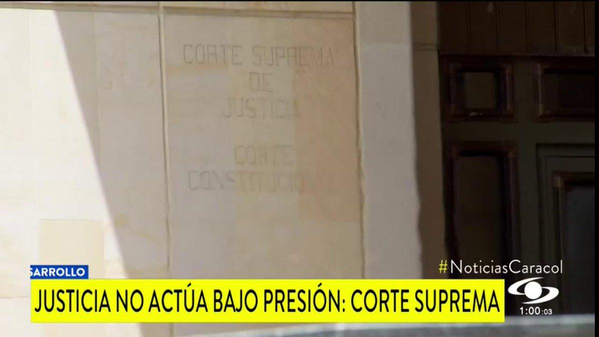 En medio de declaraciones de parte y parte sobre indagatoria de Álvaro Uribe, sectores piden respetar la institucionalidad http://noticiascaracol.com
