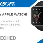 Image for the Tweet beginning: Our first Apple Watch Winner!