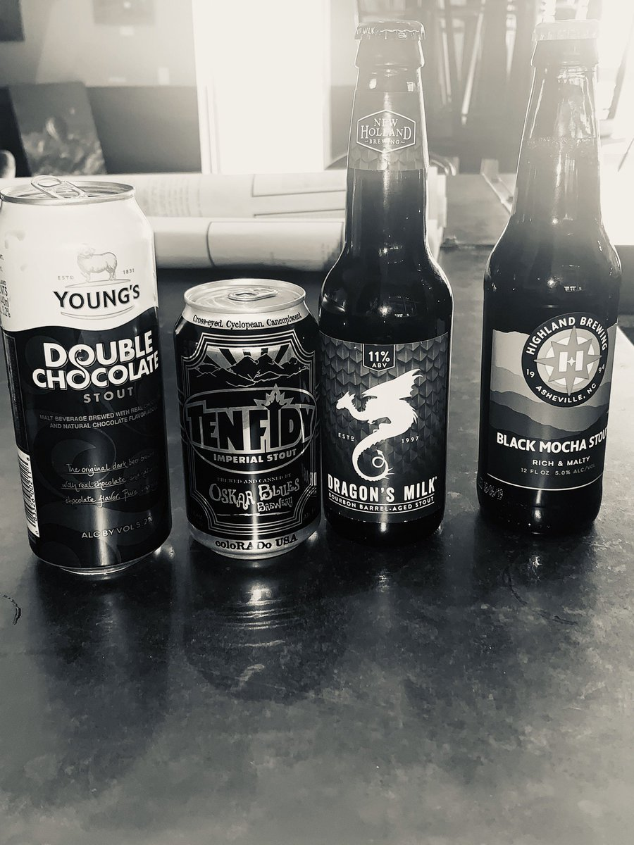 Stout game is strong today. What's your favorite stout?