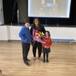 Image for the Tweet beginning: We had a special Assembly