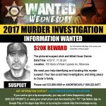 Image for the Tweet beginning: $20K REWARD #WantedWednesday  Can You Help #LASD