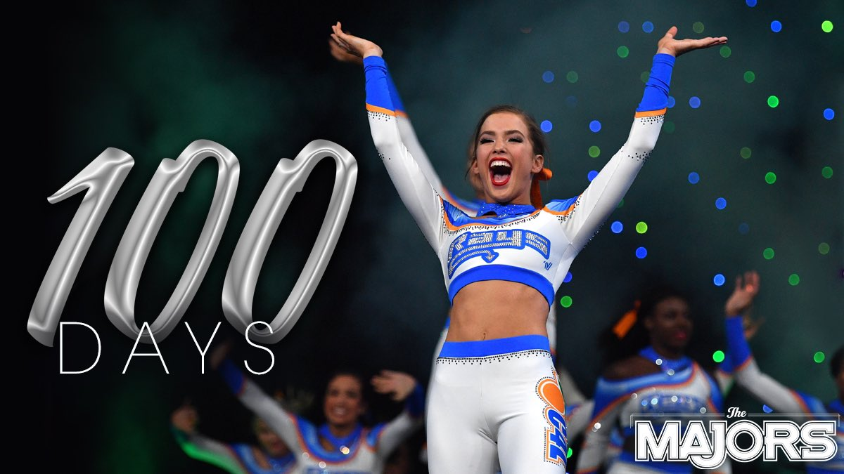 Keeping it  — We told you this week was a big week!  Can you believe it?! Only 1 DAYS until the most MAJOR night in all-star cheerleading. RT if you're as excited as we are! #MAJORS20  #ItWillBeMAJOR<br>http://pic.twitter.com/N5dlkUR9St