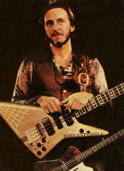 Happy birthday to the superhero bass guitarist John Entwistle!