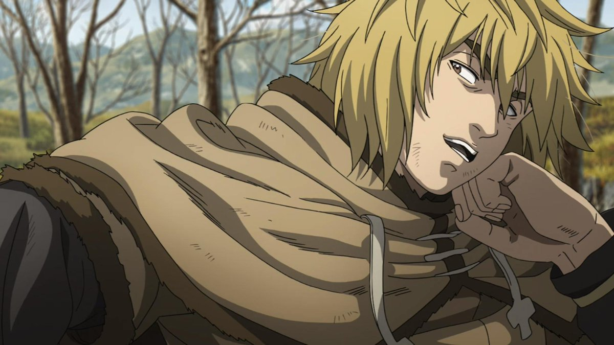 Image result for vinland saga anime thorfinn snow