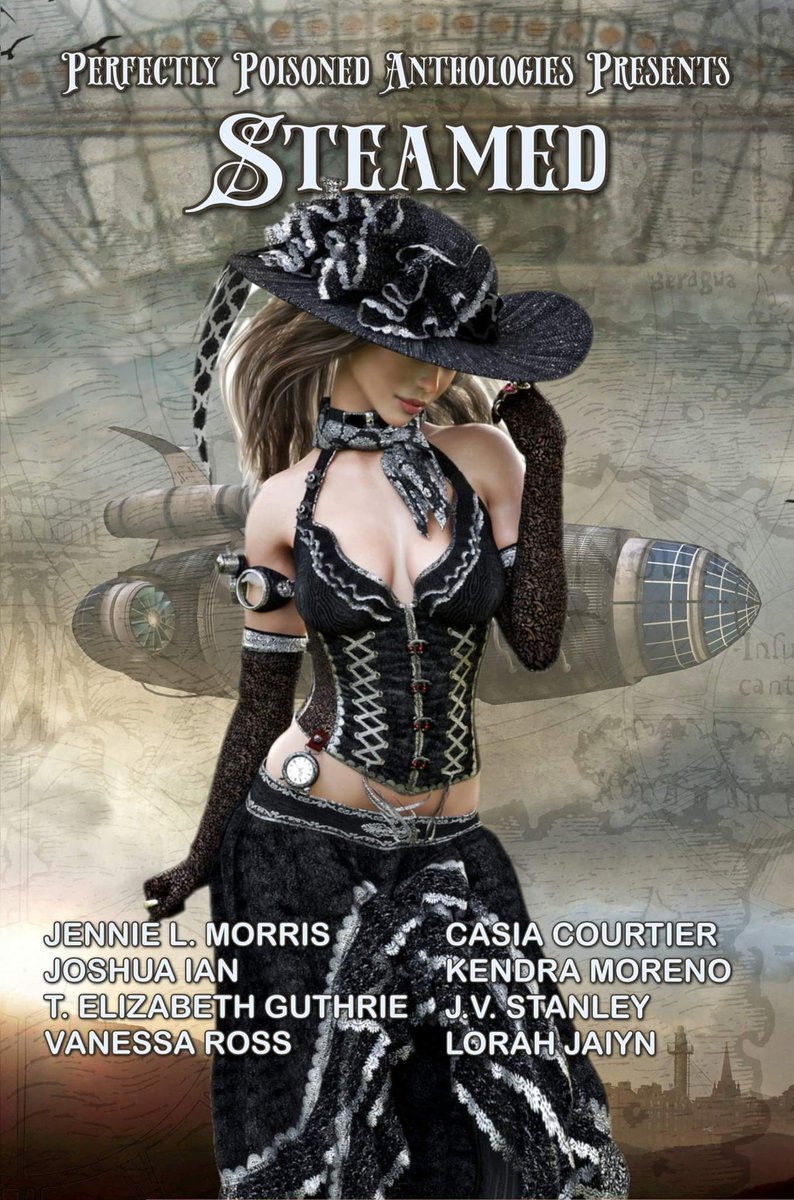 #Book 📖 Awesome of the Day: #Fantasy #Scifi 'Steamed: A #Steampunk ⚙️ Anthology' #Kindle Edition by @moodyboxfan #SamaBooks️ 📚