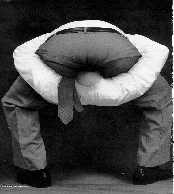 #OtherUsesForPants To help hold your head in the right place if you're a Trump supporter