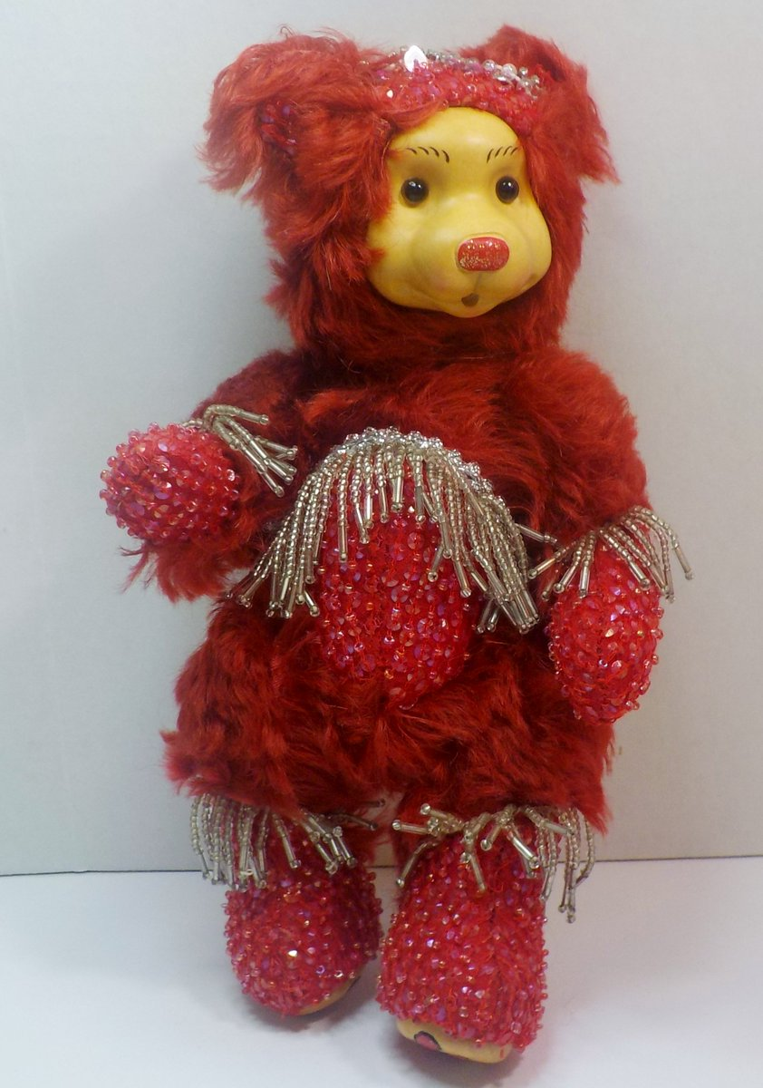 Robert Raikes Bedazzled Birthstone Bears July Ruby 2001 limited edition https://t.co/C9Bdv6NPxb #woodcarved #teddybear #LtdEdition #signed https://t.co/c41gCiJUm5