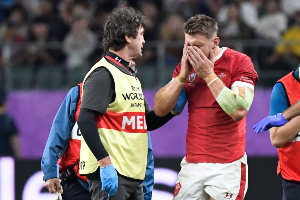 Dan Biggar will miss Wales' final Pool game at the Rugby World Cup to have a head injury assessed.Biggar took a blow to the head for the second successive game.More 👉http://bbc.in/2LZOKD7