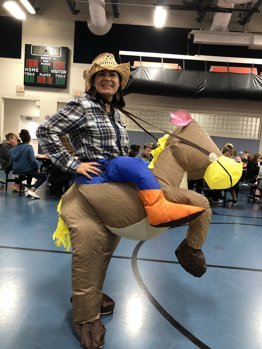 WESTERN DAY @BridgetownMS today! Yeehaw