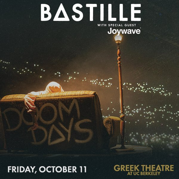 POWER UPDATE – Current status as of now is that our show with @bastilledan this Friday, 10/11 will continue as planned! Please keep an eye on local news outlets and we'll keep you updated as well.