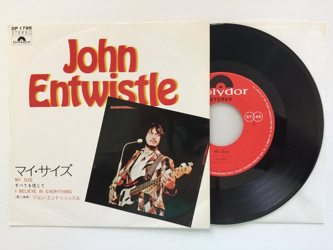 Happy 75th Birthday to the late great John Entwistle!