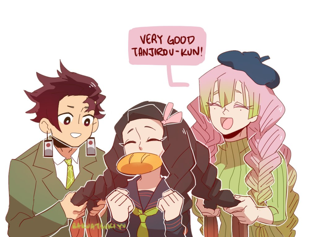 Consistent Crying Haha No Twitter Big Bros Mess With Their Siblings Hair Feat Kanroji Kny That Art With Tanjirou Braiding Nezukos Hair Is Super Cute I Wanted To Draw It Kny 90s anime is such a nice aesthetic that many fan artists have been creating lately and this one is no exception. consistent crying haha no twitter big