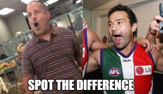 After the rumor regarding Peter Bell walking out on Stk regarding the Brad Hill trade... He reminded me of someone.  #BagelGuy #PeterBell #AFLTrade #AFLTrades<br>http://pic.twitter.com/8OHptu4qjg