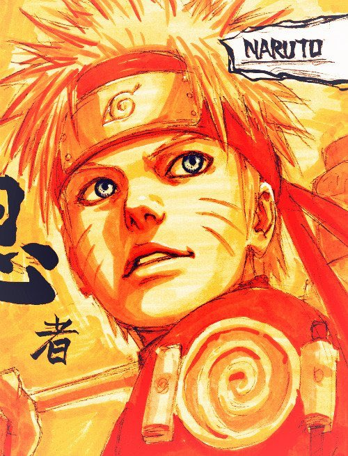 Happy Birthday to Lord 7th and our beloved  Naruto Uzumaki   .