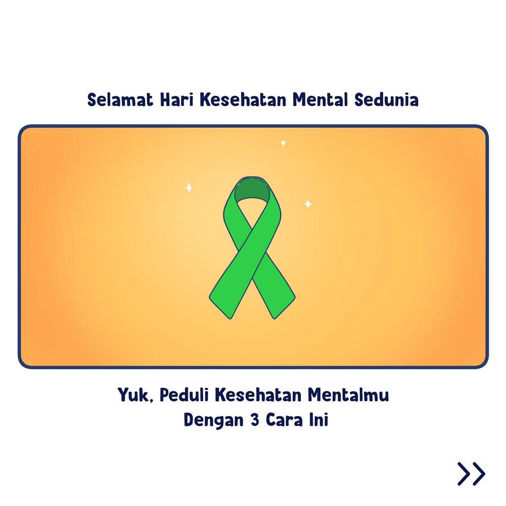 Kitabisa A Twitter Selamat Hari Kesehatan Mental Sedunia Cara Gampang Peduli Dengan Kesehatan Mental A Thread