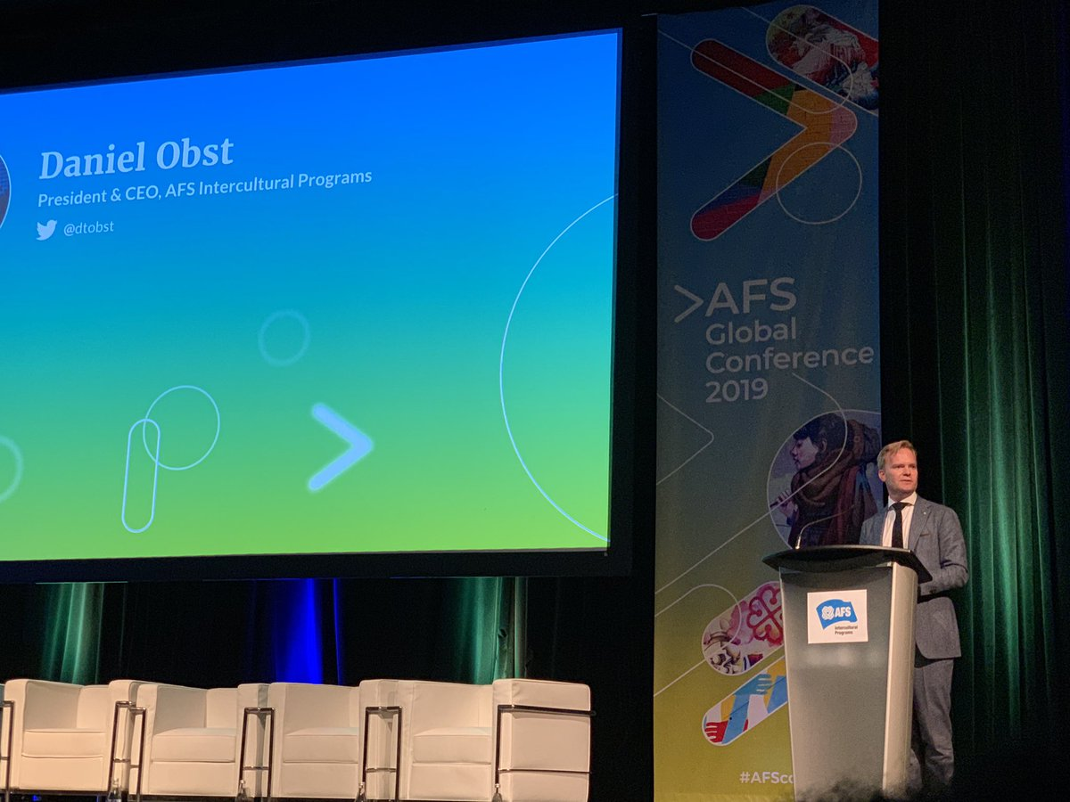 AFS announces a commitment to carbon offset all AFS student exchanges #AFSCon #ClimateAction #Resoonsibility