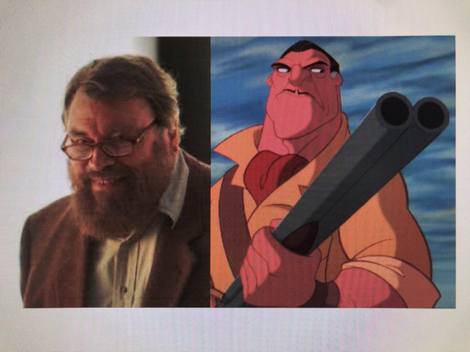 Happy 83rd Birthday to Brian Blessed! The voice of Clayton in Tarzan.