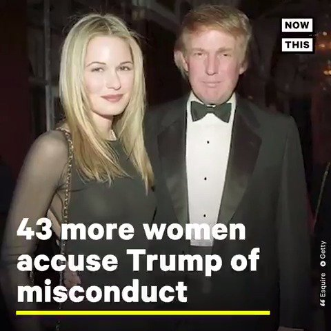 Reminder: 43 more women have accused Donald Trump of sexual misconduct, including 26 new claims of sexual assault. Pass it on https://t.co/KjslsL1DOT