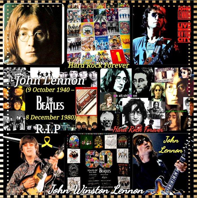 Happy Birthday In Heaven To John  Lennon  (9 October, 1940 - 8 December, 1980).